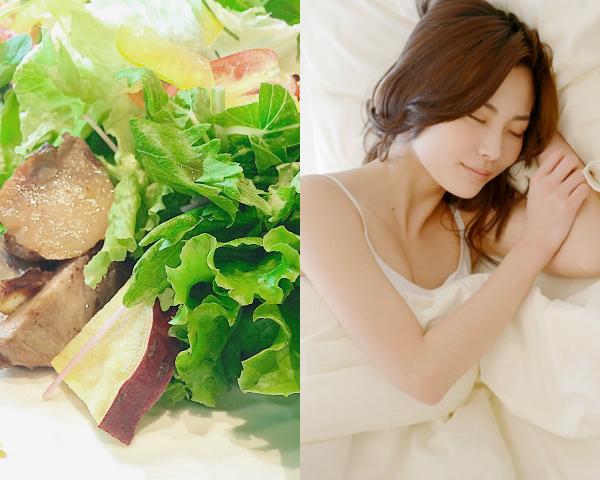 たっぷりの栄養と睡眠